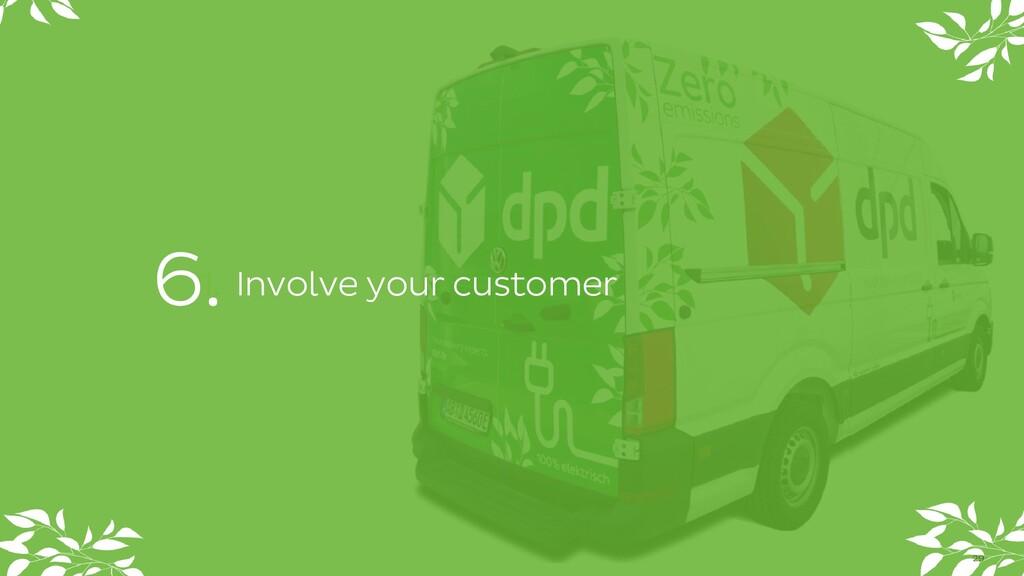 1. Involve your customer 29 6.