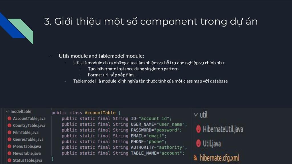 3. Giới thiệu một số component trong dự án - Ut...