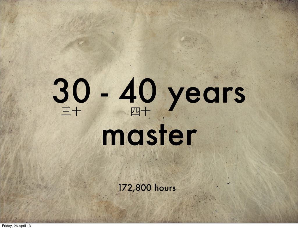 30 - 40 years master 172,800 hours े े Friday...
