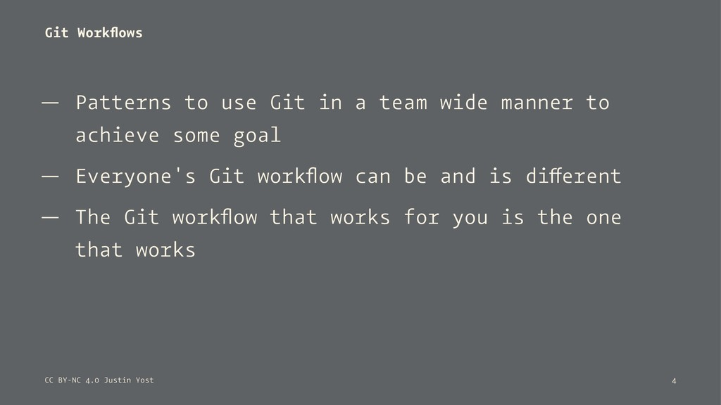 Git Workflows — Patterns to use Git in a team wi...