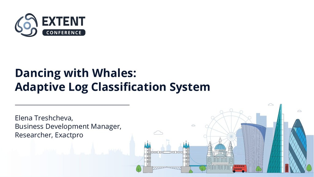 Dancing with Whales: Adaptive Log Classification...