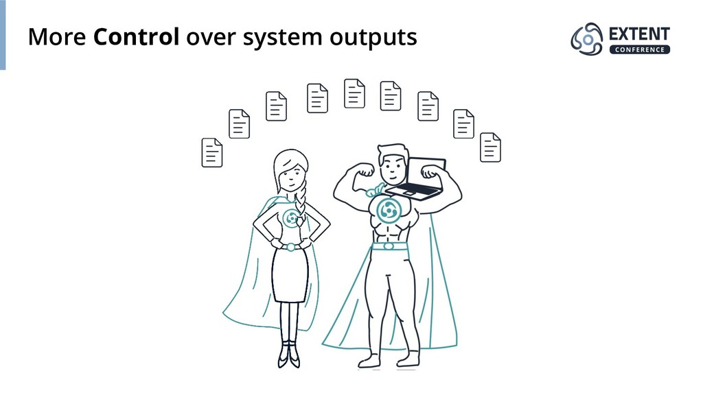 More Control over system outputs