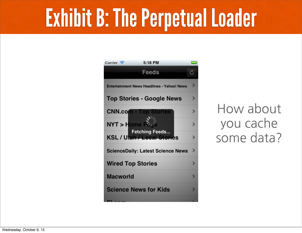Exhibit B: The Perpetual Loader How