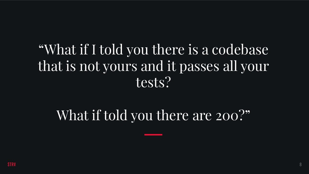 """What if I told you there is a codebase that is..."