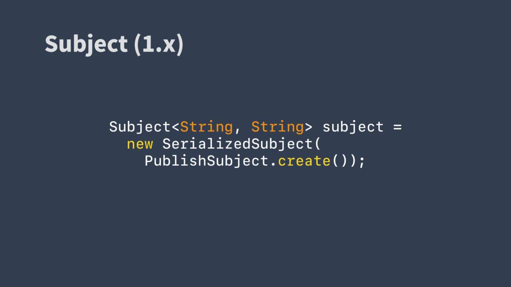 4VCKFDU Y  Subject<String, String> subject =...