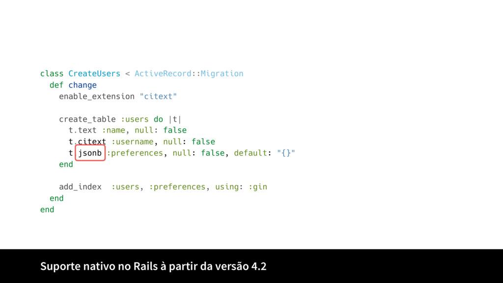 class CreateUsers < ActiveRecord::Migration def...
