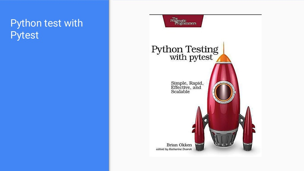 Python test with Pytest