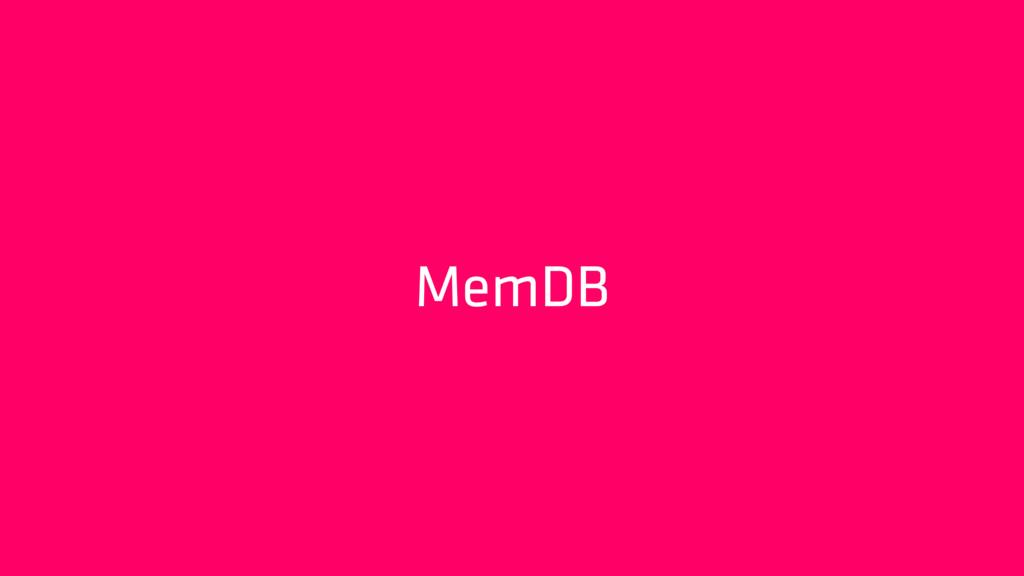 MemDB