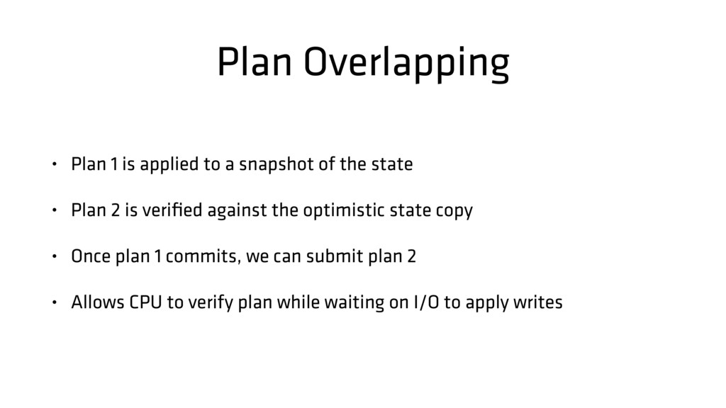Plan Overlapping • Plan 1 is applied to a snaps...