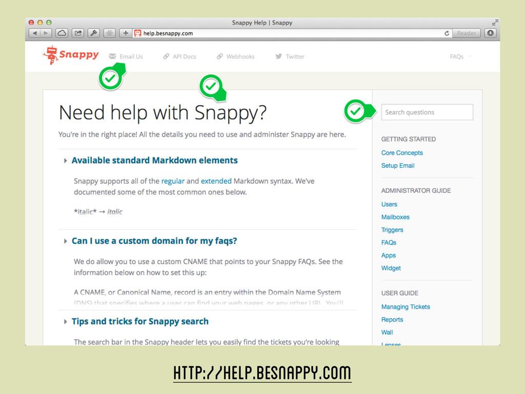 http://help.besnappy.com