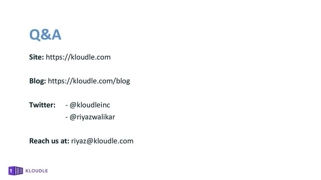 Q&A Site: https://kloudle.com Blog: https://klo...