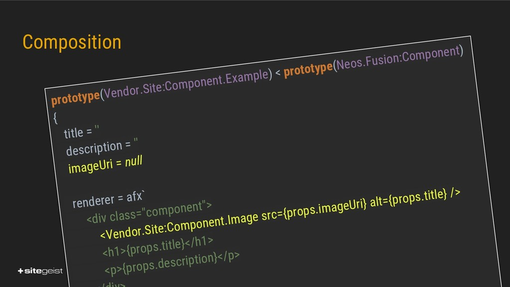 Real Values. Composition prototype(Vendor.Site:...