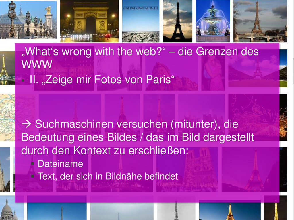 """""""What's wrong with the web?"""" – die Grenzen des ..."""