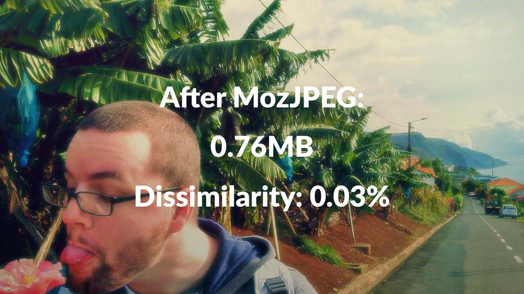 "A""er%MozJPEG: 0.76MB Dissimilarity:+0.03%"