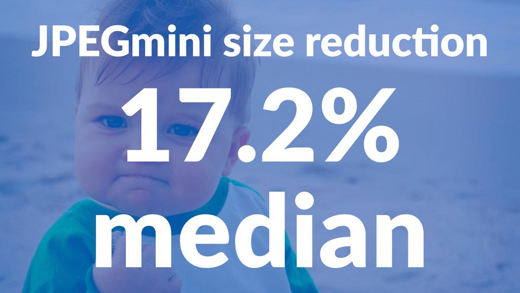 JPEGmini(size(reduc0on 17.2% median