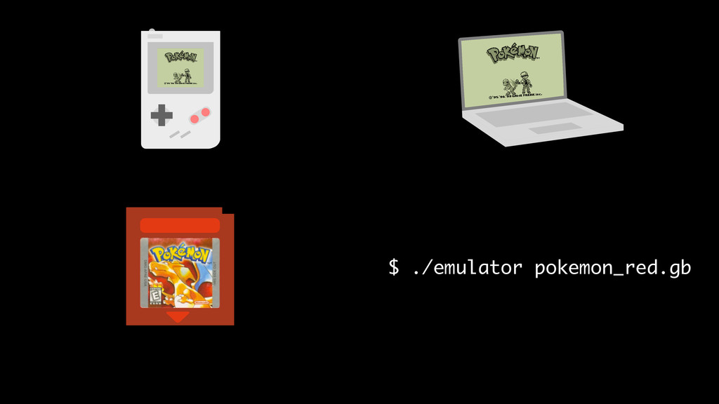 $ ./emulator pokemon_red.gb