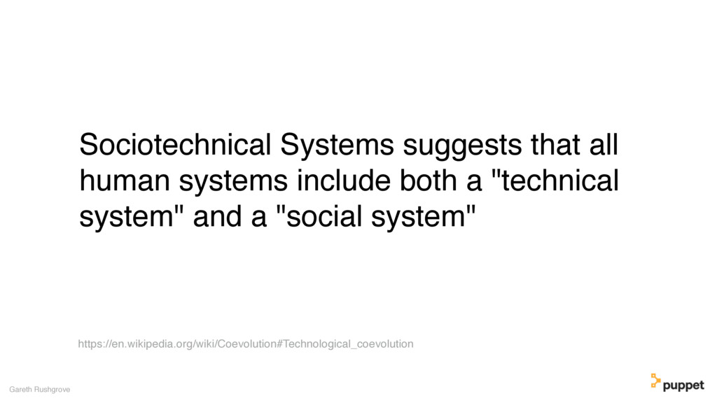 (without introducing more risk) Sociotechnical ...