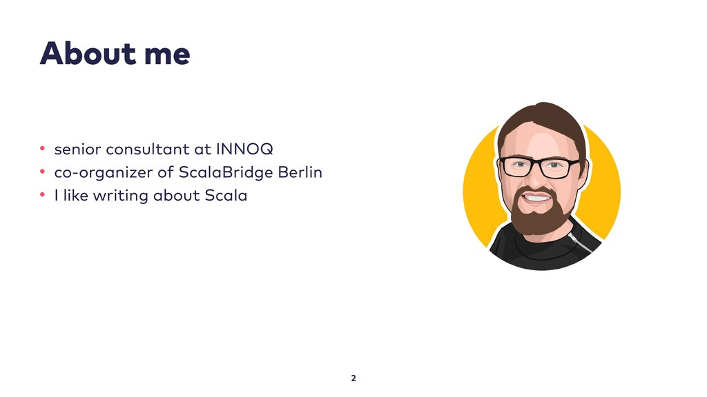 About me 2 • senior consultant at INNOQ • co-or...