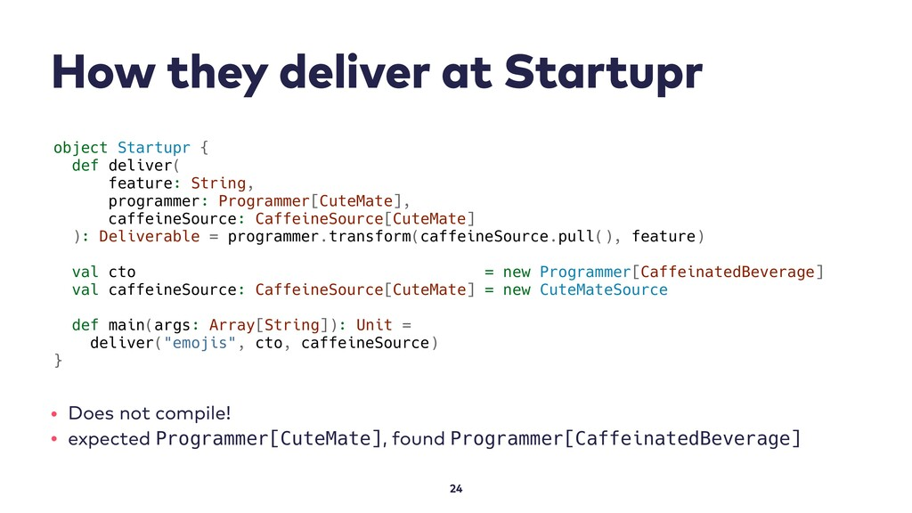 How they deliver at Startupr 24 object Startupr...