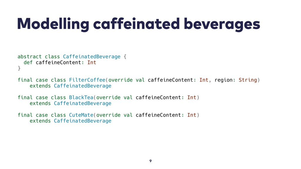 Modelling caffeinated beverages 9 abstract clas...