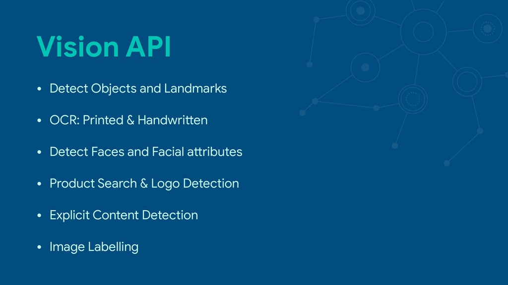 Vision API • Detect Objects and Landmarks  • OC...
