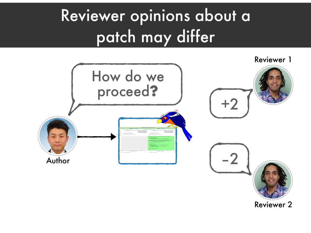 Reviewer opinions about a patch may differ Revi...