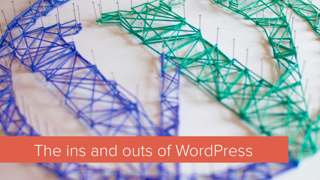 The ins and outs of WordPress