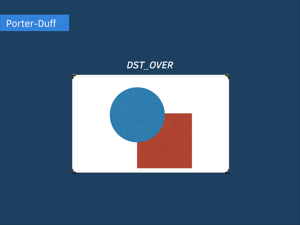 Porter-Duff DST_OVER