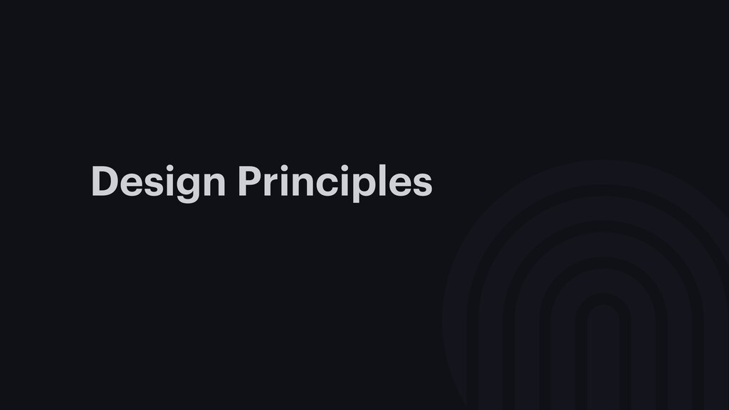 Design Principles are awesome