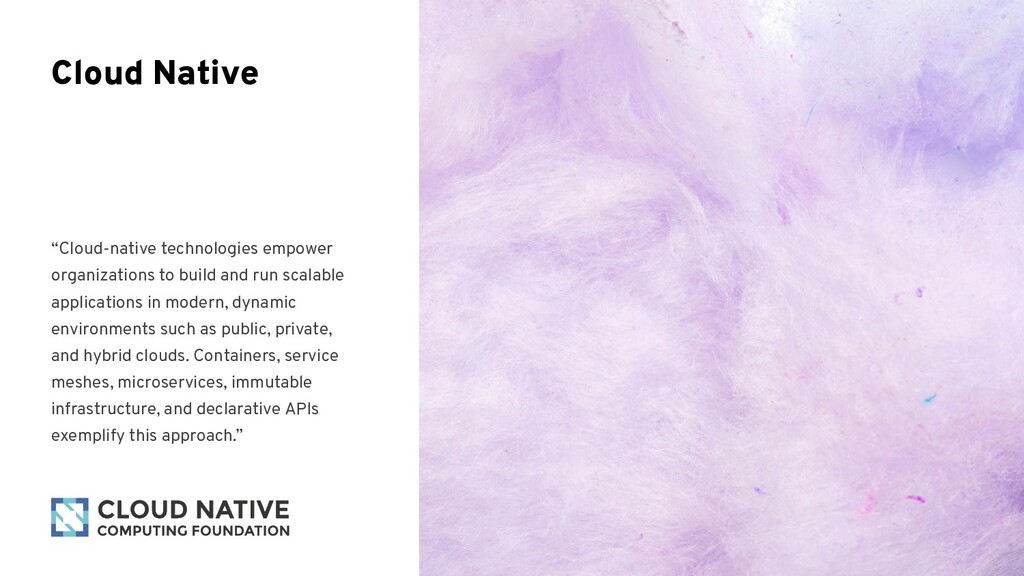 """Cloud-native technologies empower organization..."