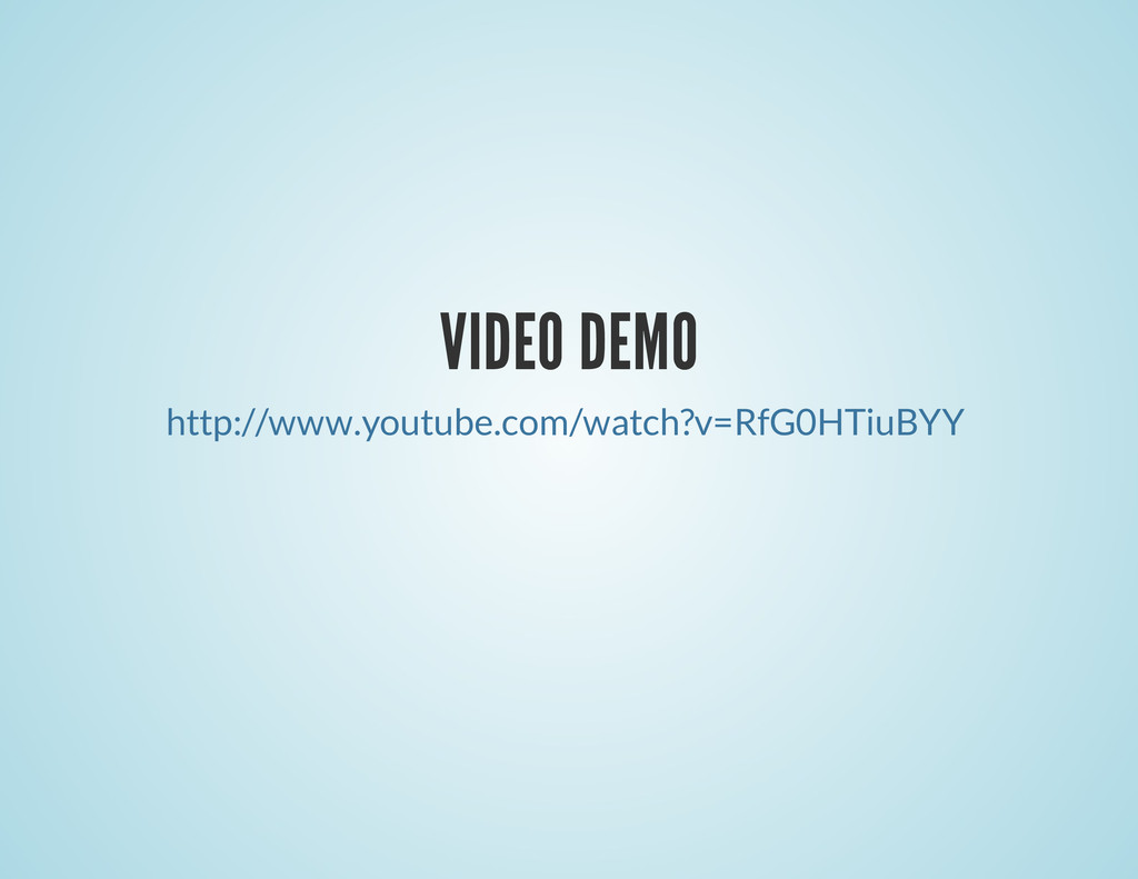 VIDEO DEMO http://www.youtube.com/watch?v=RfG0H...