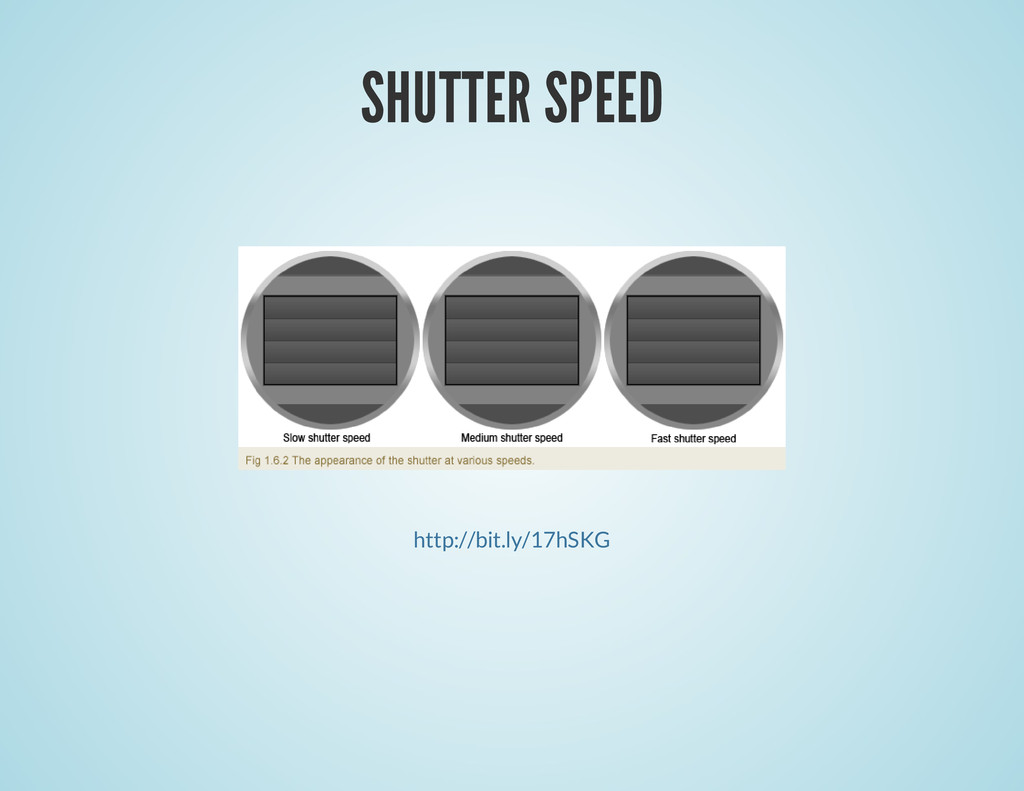 SHUTTER SPEED http://bit.ly/17hSKG