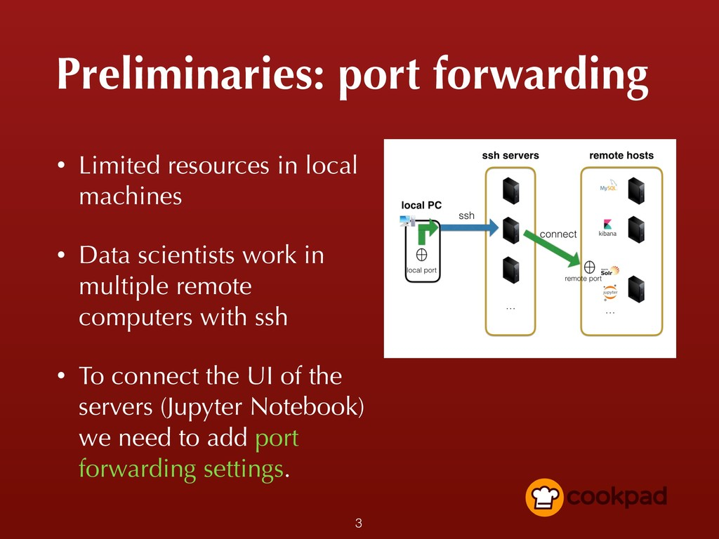 Preliminaries: port forwarding • Limited resour...