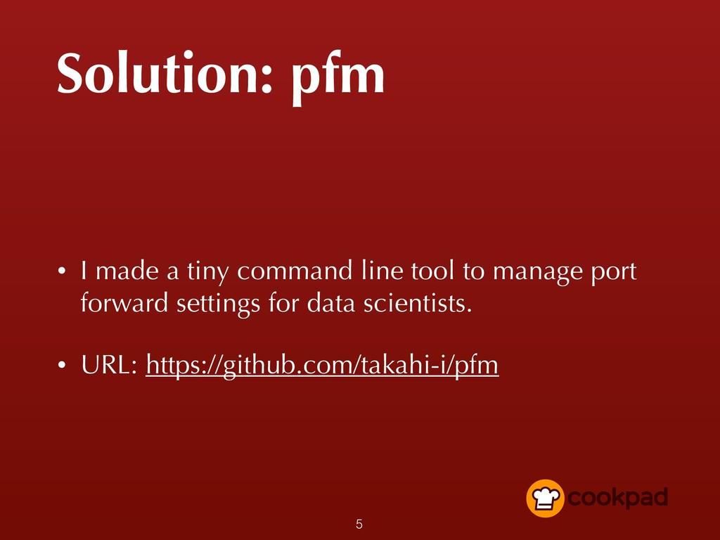 Solution: pfm • I made a tiny command line tool...