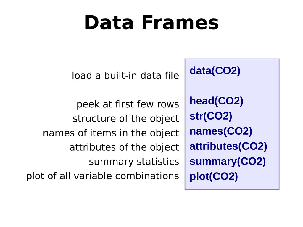 load a built-in data file peek at first few row...