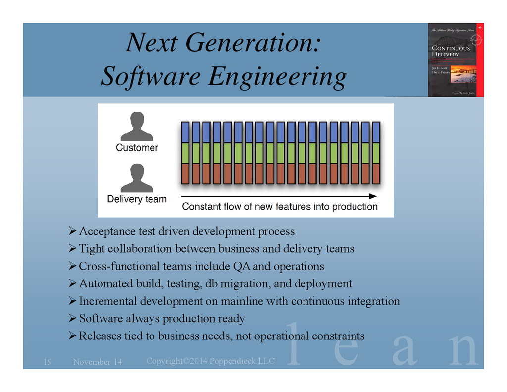 l e a n Next Generation: Software Engineering N...
