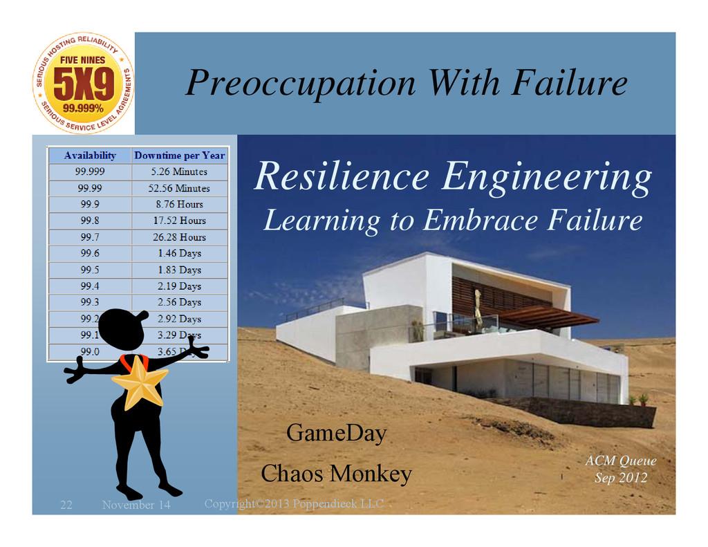 l e a n Preoccupation With Failure Resilience E...