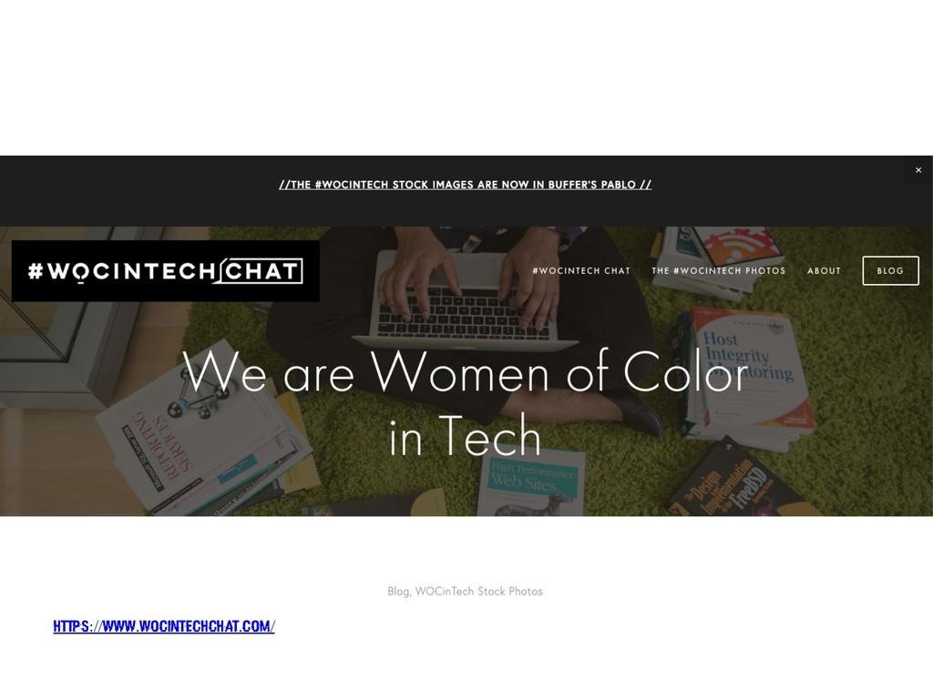 https://www.wocintechchat.com/