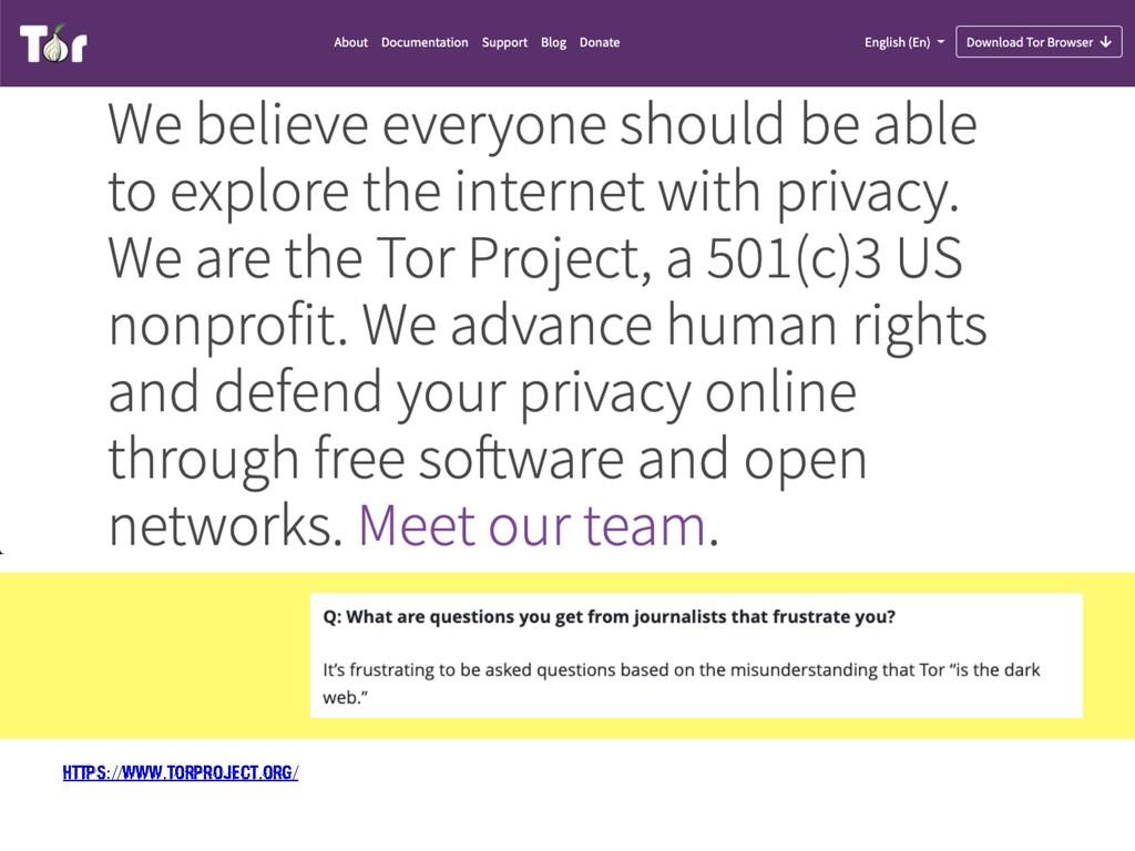https://www.torproject.org/
