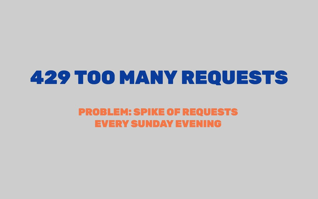 429 TOO MANY REQUESTS 429 TOO MANY REQUESTS PRO...