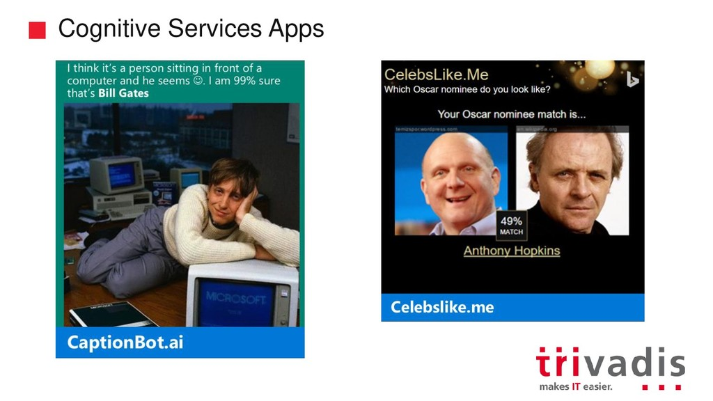 Cognitive Services Apps
