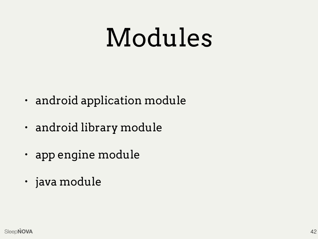 Modules • android application module • android ...
