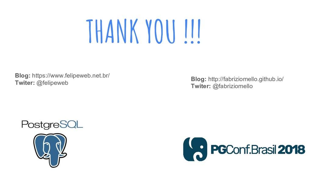 THANK YOU !!! Blog: https://www.felipeweb.net.b...