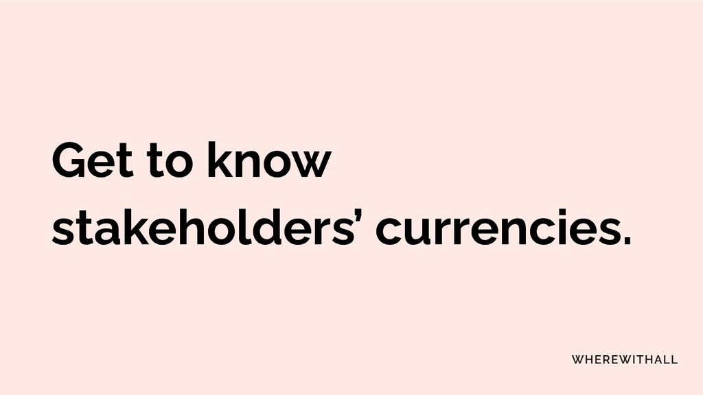 Our core needs as currencies