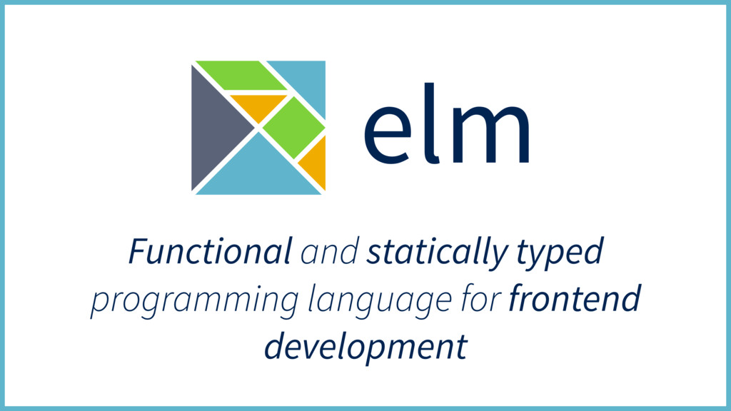 Functional and statically typed programming lan...