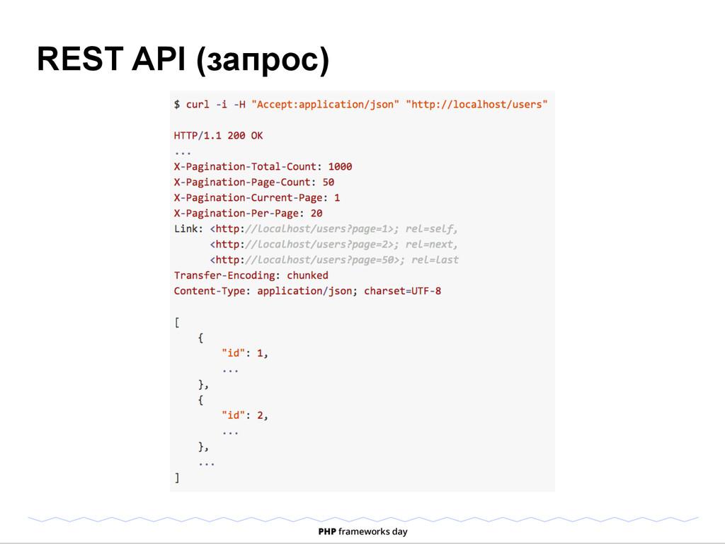 REST API (запрос)