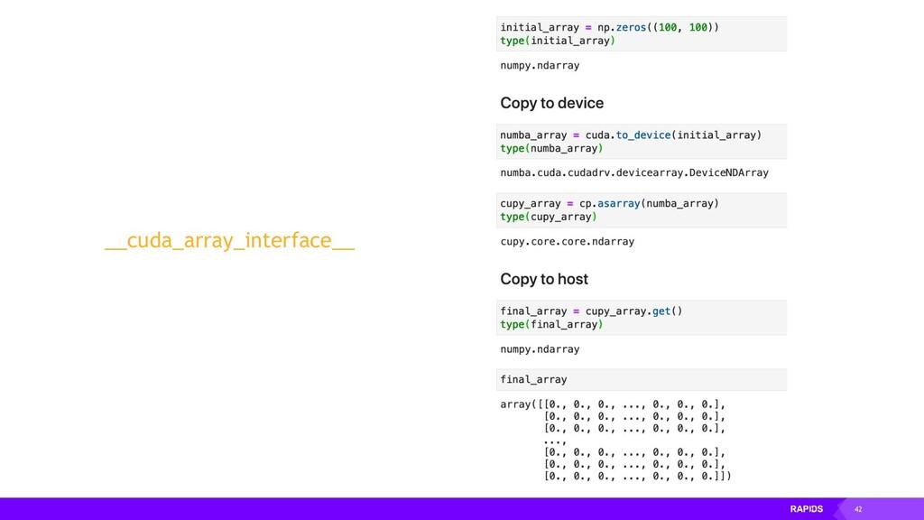 42 __cuda_array_interface__
