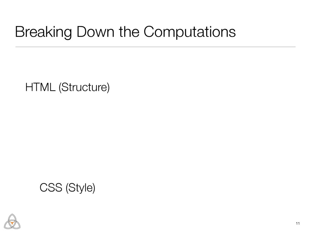 Breaking Down the Computations 11 HTML (Structu...