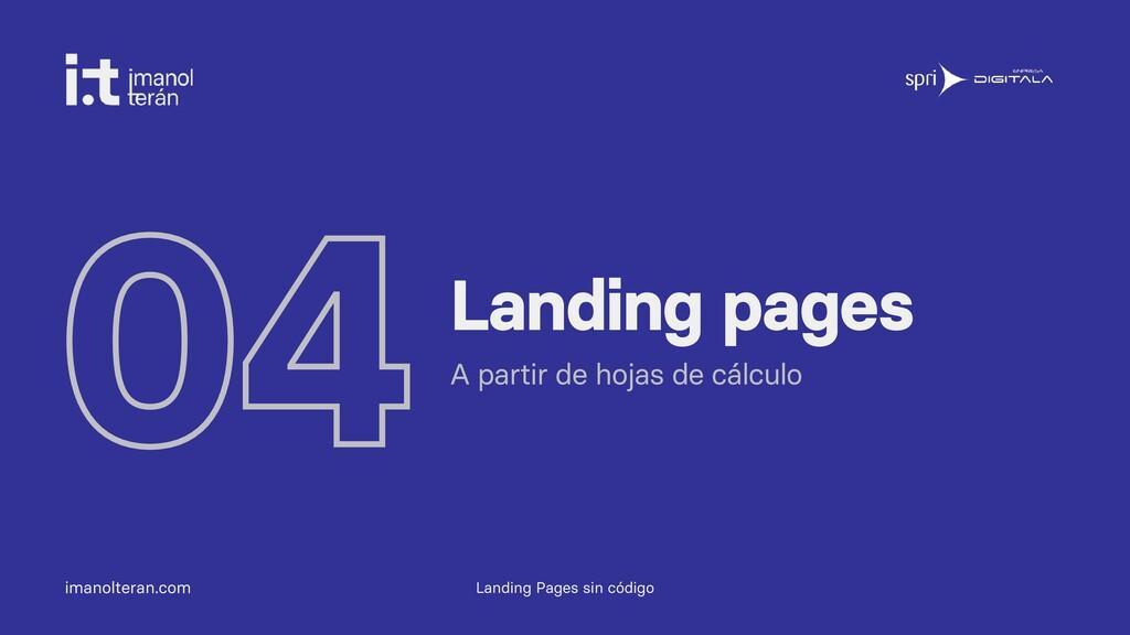 imanolteran.com 04Landing pages A partir de hoj...