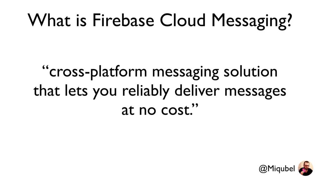"""cross-platform messaging solution that lets yo..."